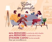 Eveniment Editura Litera – Citim în familie – 15 mai