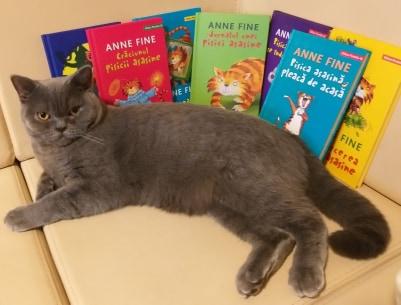 Seria Pisica asasină de Anne Fine – o serie încântătoare pentru copiii de toate vârstele