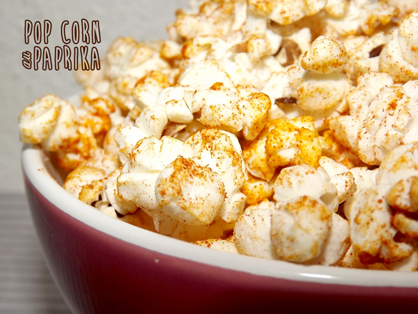 Pop-corn au paprika