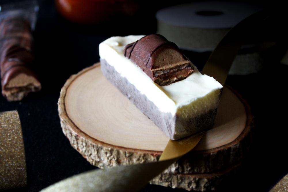 Buche au 2 chocolat thermomix