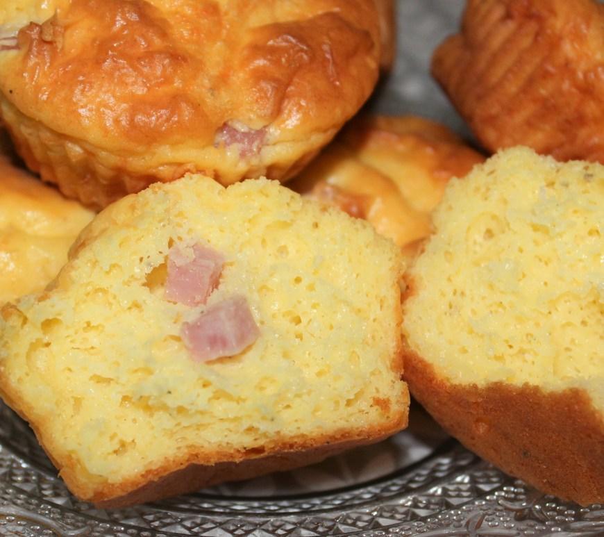 Délicimô ! - Muffins Salés Jambon et Fromage - www.delicimo.fr