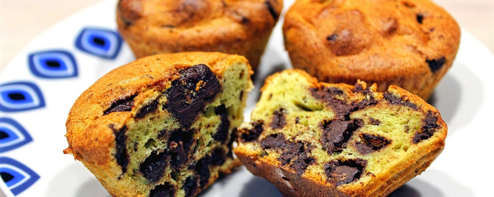 Délicimô ! - Recette Muffins Express à l'Avocat et au Chocolat - www.delicimo.fr