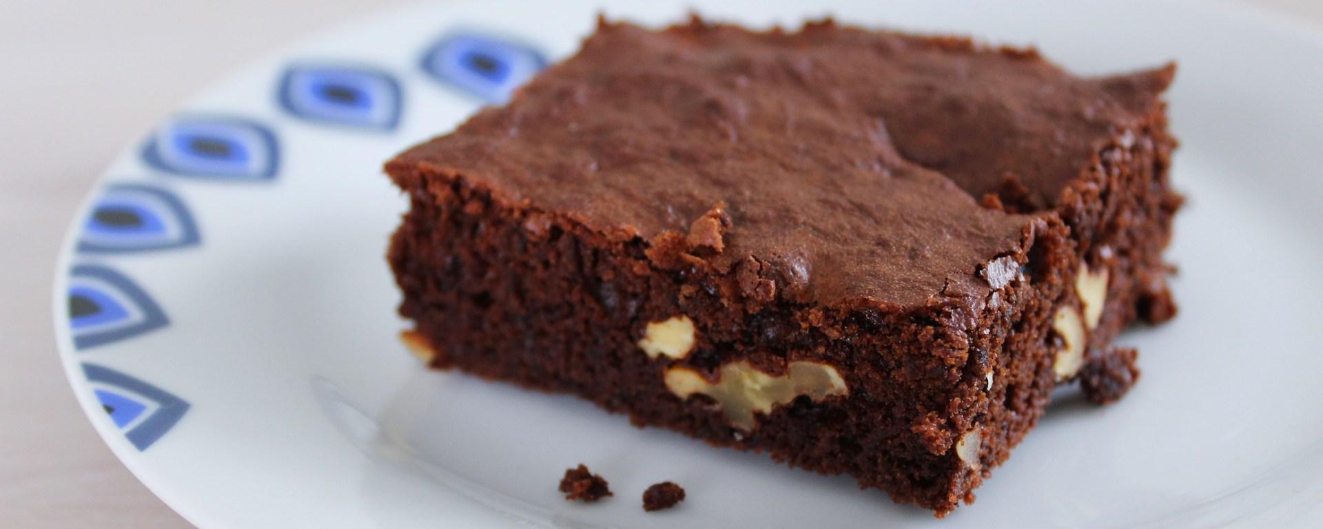 Délicimô ! - Recette Brownie Chocolat Noir et aux Noix - www.delicimo.fr