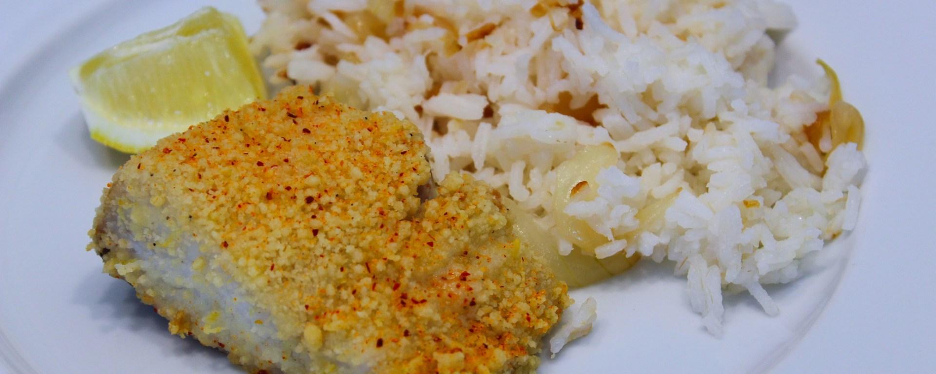 Délicimô ! - Recette du Dos de Cabillaud Poisson Pané au Crumble Citronné- www.delicimo.fr