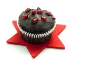 Cupcakes ciocolatoase cu ganache de ciocolata