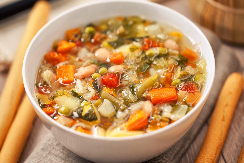 Sopa minestrone  Deliciosicom