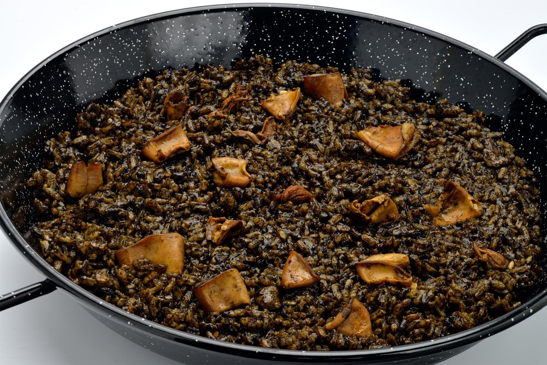 Arroz negro con sepia  Deliciosicom
