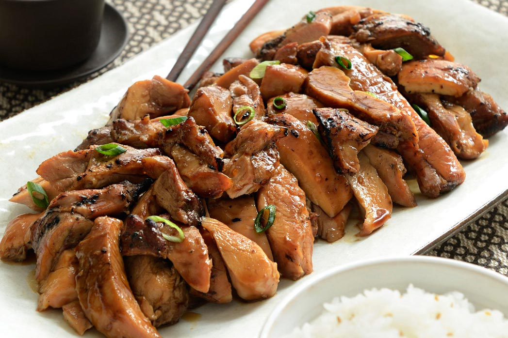 Pollo teriyaki Cocina japonesa  Deliciosicom