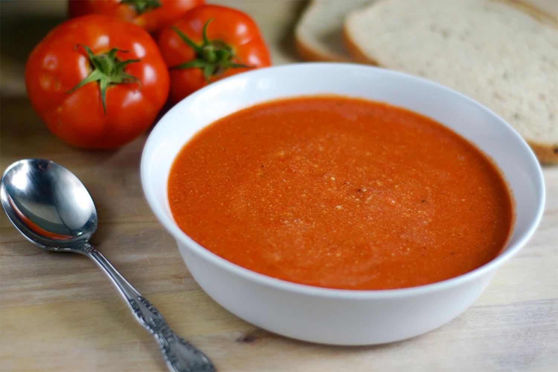 Sopa de tomate  Deliciosicom