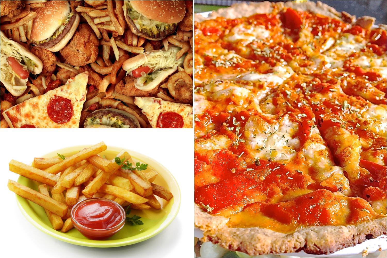 Recetas de comida chatarra o comida basura
