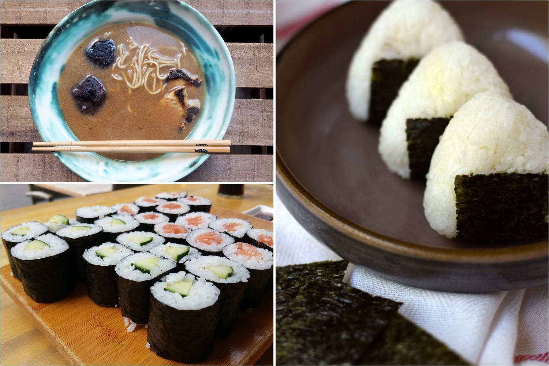 Comida japonesa Recetas tpicas japonesas