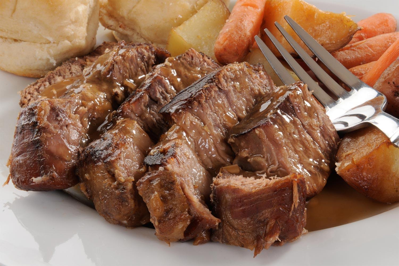 Receta de Carne a la olla o al jugo Guiso mendocino