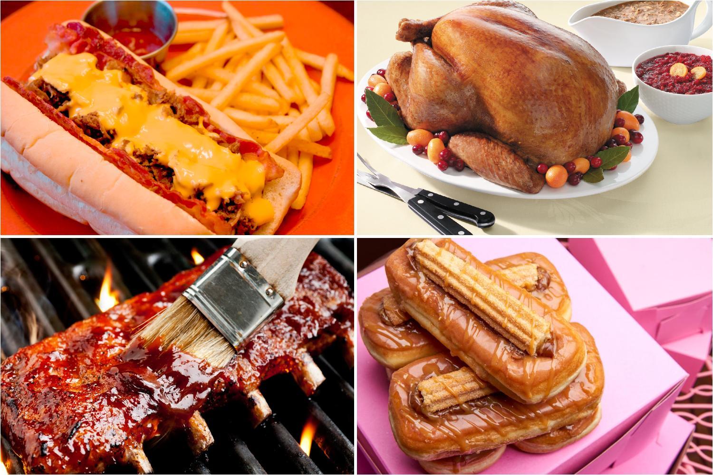 Comida americana Recetas tpica de Estados Unidos