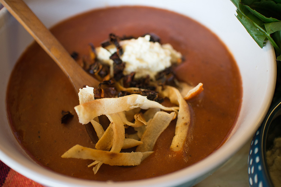 Sopa tarasca  Deliciosicom
