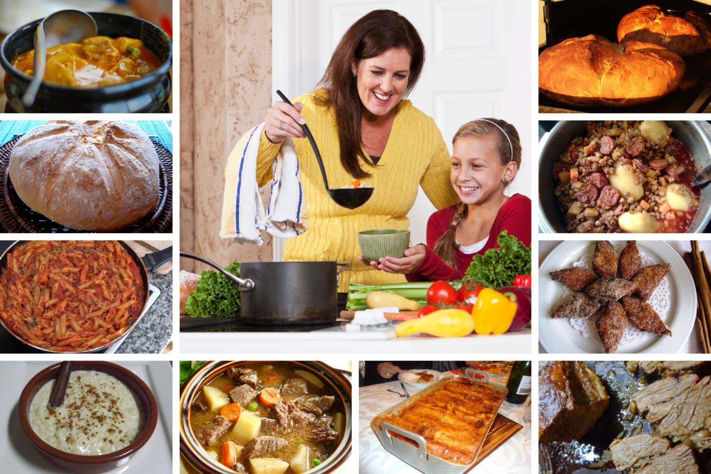 Las recetas de comidas caseras ms tpicas