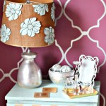 Lamp Makeover Drab to Fab {In Under 15 Minutes}