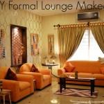 DIY Formal Lounge Makeover