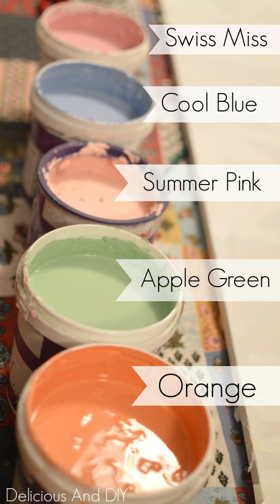 Paint Colors -Delicious and DIY