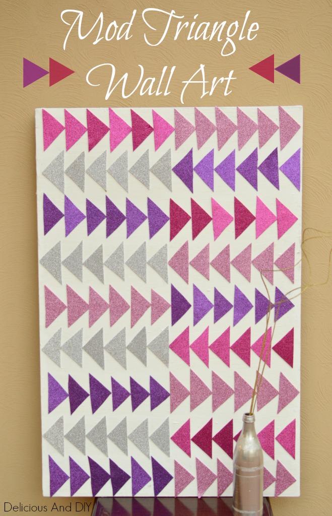 Mod Triangle Wall Art
