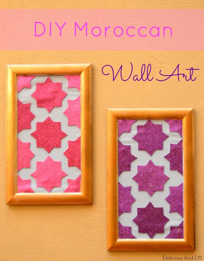 Diy moroccan wall art