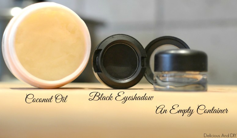 Coconut Oil Eyeliner -Delicious And DIY