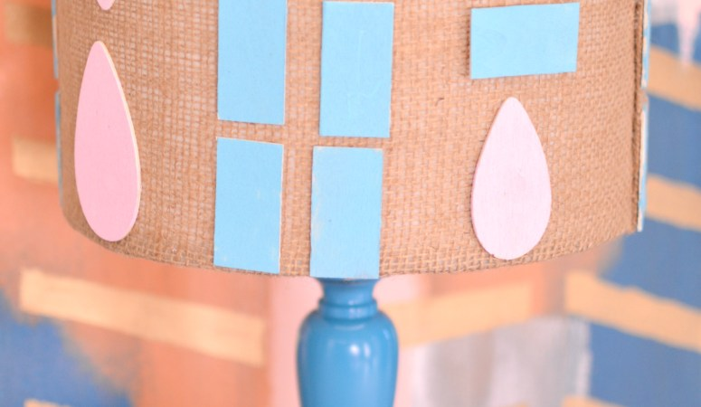 How to Quickly Update An Old Lamp