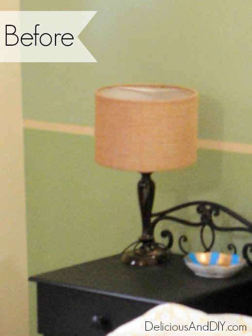 How to Quickly Update an Old Lamp - Delicious And DIY
