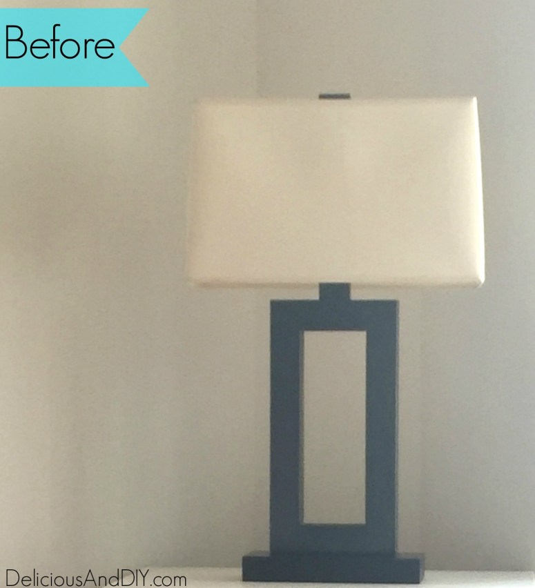Modern Geometric Lamp - Delicious And DIY