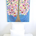 Tree Painting Wall Art {You Don't Need to Be an Artist}