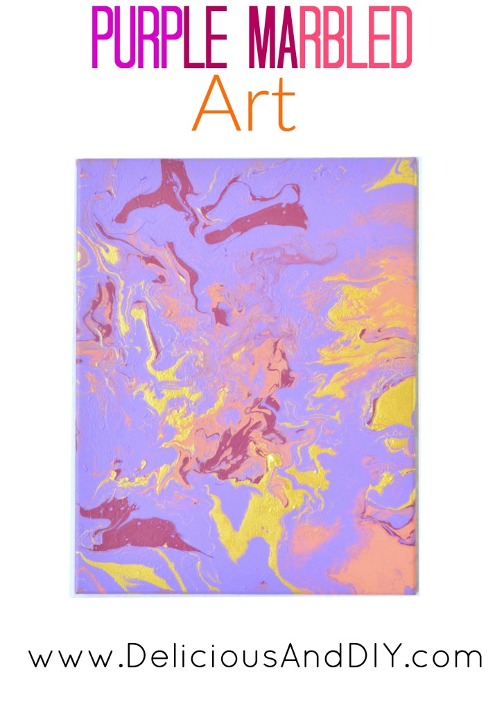Create a stunning Marbled Art using a couple of different paint colors  DIY Crafts done in under 15 minutes  Wall Art Ideas  Home Decor Ideas  Painted Wall Art Ideas  Canvas Art  DIY Crafts  Dirty Pour Art  Marbled Art 