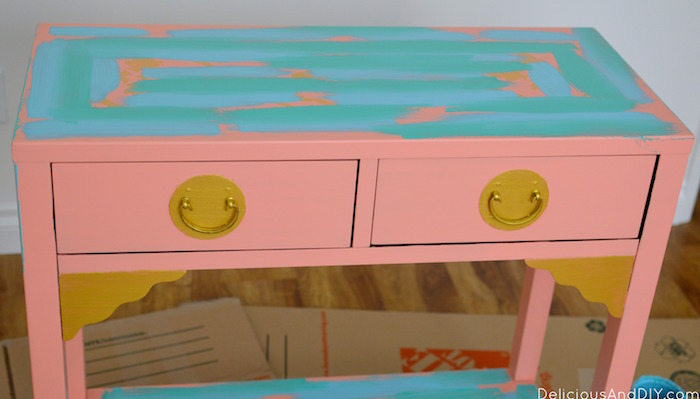 Create A Gorgeous Almost Art Like Furniture Piece In A Few Simple Steps.  You Don