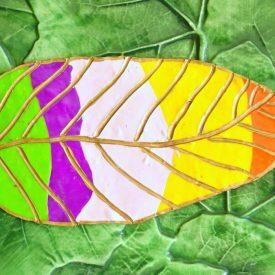 Clay Leaf Decoration