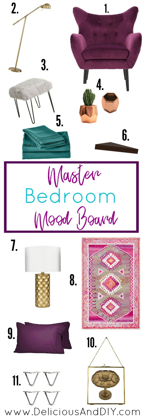 Master Bedroom Mood Board| Mater Bedroom Ideas | Boho Chic Bedroom Ideas| Home Decor Ideas| Home Styling Tops| Southwestern Master Bedroom Decor|| Before and After| Room Reveals