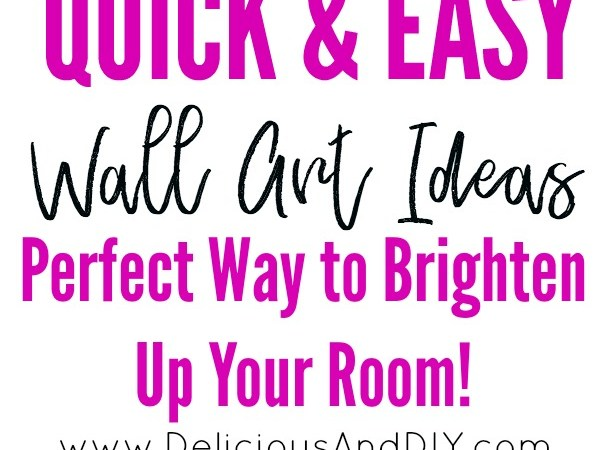 Quick and Easy Wall Art Ideas