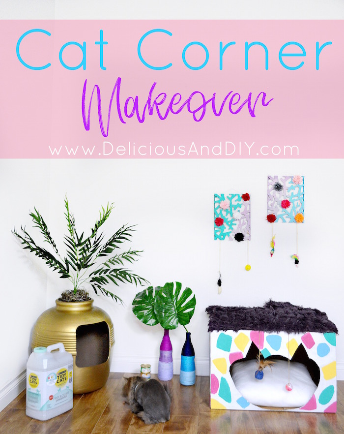 #ad Want To Give Your Cat Corner A Fun And Vibrant Makeover Then Why Not