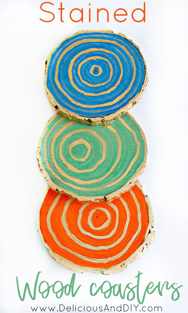 Learn the four different ways you can create gorgeous coasters by using Wood Stain, Resin and Decoupaging Technique  Coasters Ideas  DIY  Crafts  Beautiful Coasters