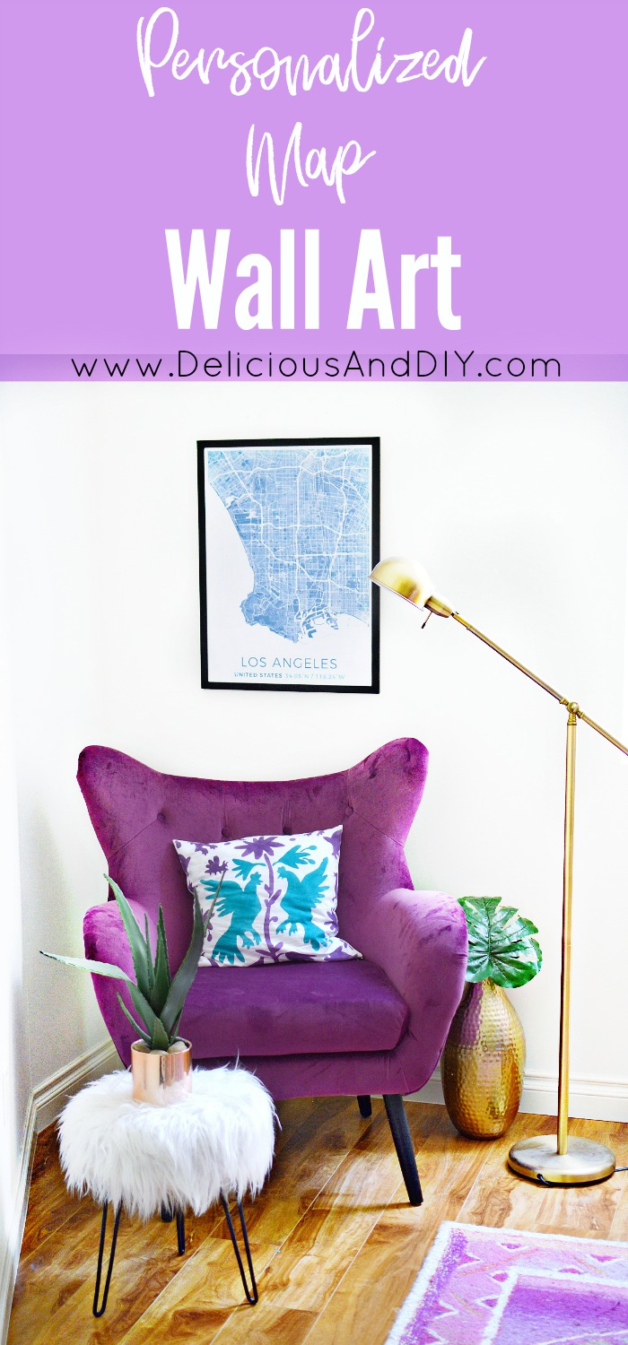 Decorate your wall with these beautiful Personalized Maps| Customized Map Wall Art| Wall Art Ideas| Home Decor| Map Canvas Art
