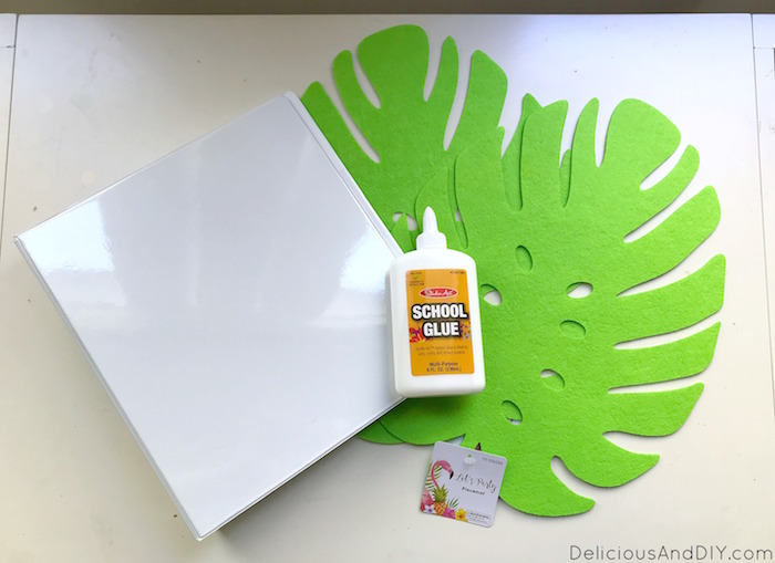 supplies for binder makeover for back to school gift ideas