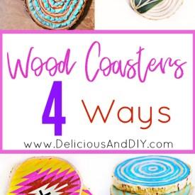 Wood Coasters ( Four Way )