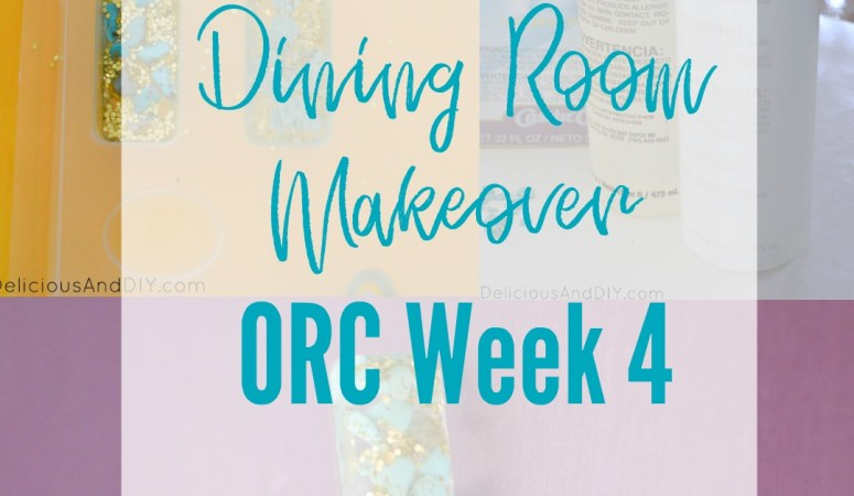 Dining Room Makeover – One Room Challenge Week 4