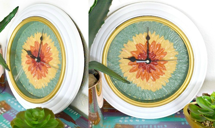 DIY Flower Clock