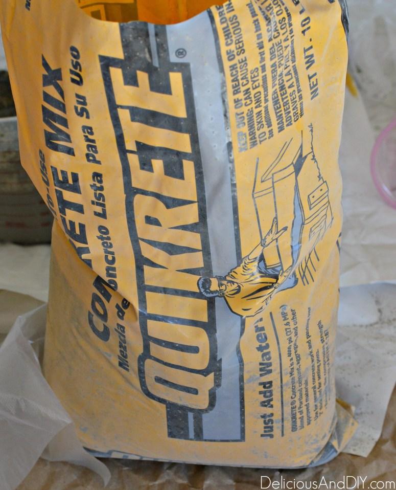 Concrete Mix Bag