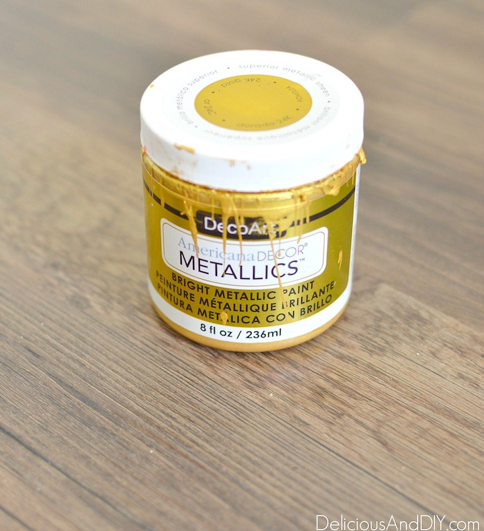 Gold Paint color to be used on the end table legs