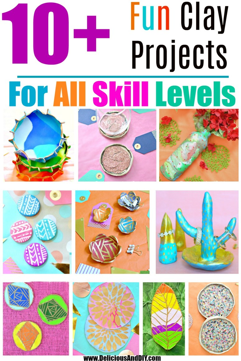 10 clay craft projects for all skill levels