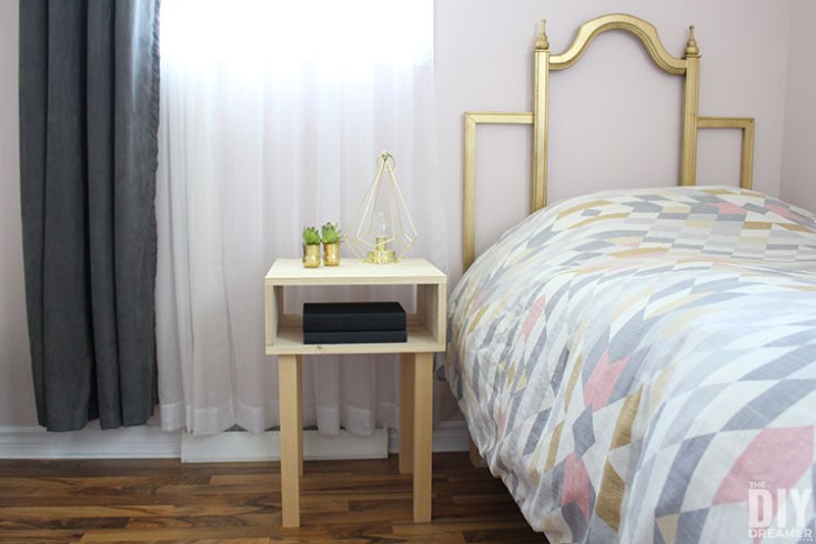 How to Build a Nightstand for under $40