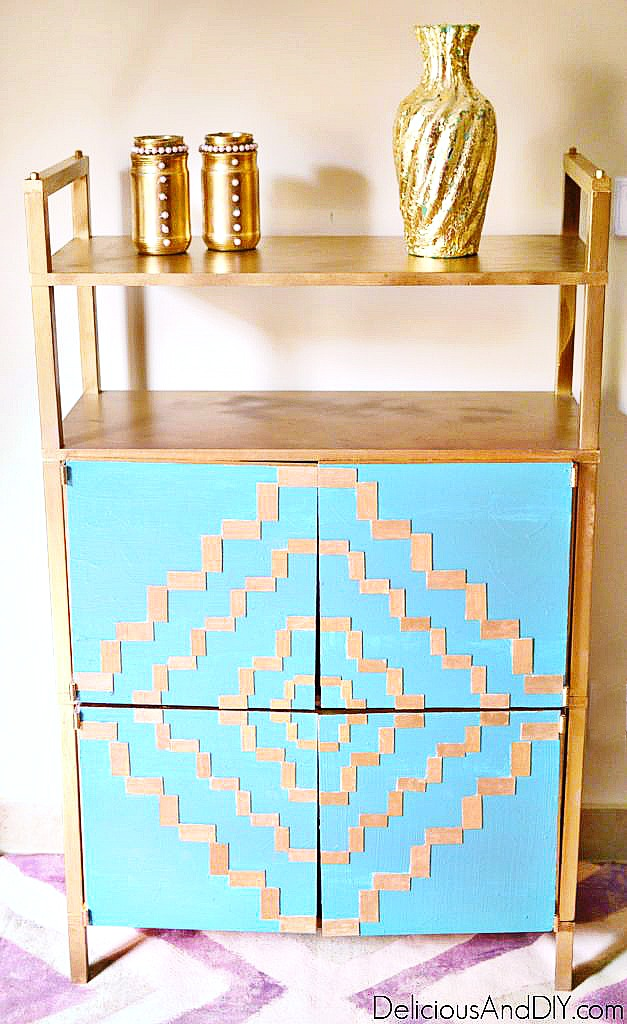 painted towel cabinets
