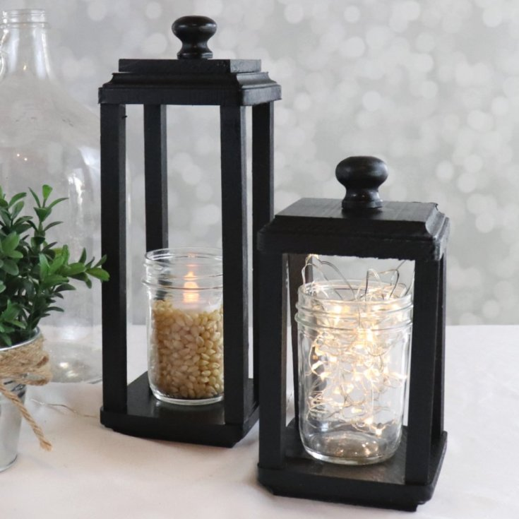 How to Build a Simple Wood Lantern - Creative Ramblings