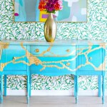 How To Paint a Vintage Buffet Table- Layering & Blending Paint Technique