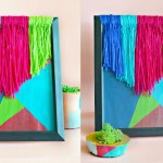 How To Make DIY Yarn Wall Art