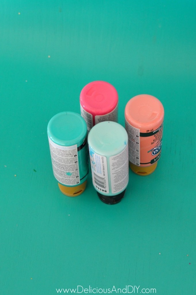 paints to be used on bottle brush trees
